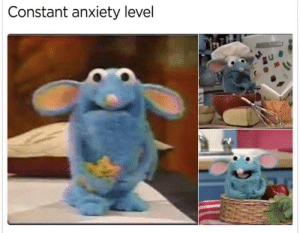 : Constant anxiety level