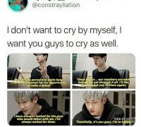 """Period, Thank You, and Happy: @constrayllation  I don't want to cry by myself, I  want you guys to cry as well.  These& quys...our members are w  training period was quite lon  ve aiways Waited for the opportunity  help  to make a debut  edime get through it all. I'd like  thank you to them again  I have always.. looked for the guys  who would debut with me. Ive  always waited for them  """"너희를 만요 장맛  Thankfully, it's you guys. I'm so happy awww"""