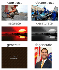 """Http, Invest, and Via: construct  deconstruct  saturate  desaturate  generate  degenerate  Generating worlod  Building terrain <p>Invest invest invest (xpost from r/DankMemes) via /r/MemeEconomy <a href=""""http://ift.tt/2C4rK2g"""">http://ift.tt/2C4rK2g</a></p>"""