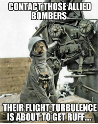 ww2 german flak36 flakgun antiair dogsofinstagram: CONTACT THOSE ALLIED  BOMBERS  THEIR FLIGHTTURBULENCE  IS BOUT TO GET RUFF ww2 german flak36 flakgun antiair dogsofinstagram