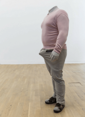 contemporary-art-blog:  Erwin Wurm,  Anger bump, 2007    This is exactly how my body looks like omg: contemporary-art-blog:  Erwin Wurm,  Anger bump, 2007    This is exactly how my body looks like omg