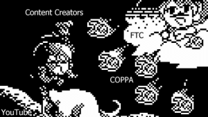 Funny, youtube.com, and Content: Content Creators  FTC  COPPA  YouTube The first battle of retribution from the FTC... but in the style of prehistoric era
