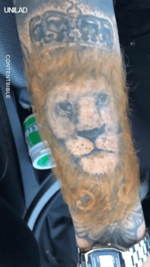 Bad, Dank, and Tattoo: CONTENTBIBLE How you take your bad tattoo to the next level... 🦁👀  CONTENTbible