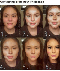 Contouring is the new Photoshop Have a happy winter break ~Raep