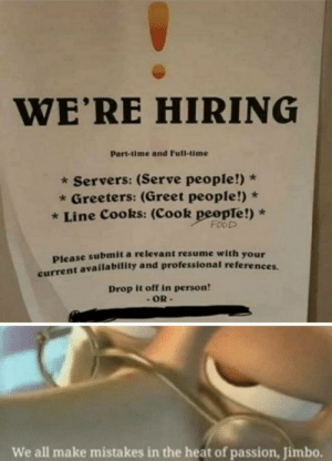Cook people! by FumingOstrich35 MORE MEMES: Cook people! by FumingOstrich35 MORE MEMES
