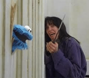 Cookie Monster, Monster, and Cookie: Cookie Monsters Very Own Episode (First aired December 5th 1992)