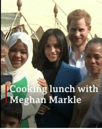 "Meghan Markle helps launch a Grenfell charity cookbook with these women, from the Hubbs Community Kitchen in west London. Tap the link in our bio to read more about how the project will help people affected by the Grenfell Tower fire. The Duchess of Sussex said she felt ""immediately embraced"" by the women of the kitchen, shortly after moving to London. royalfamily meghanmarkle princeharry grenfell cooking food bbcnews: Cooking lunch with  Meghan Markle Meghan Markle helps launch a Grenfell charity cookbook with these women, from the Hubbs Community Kitchen in west London. Tap the link in our bio to read more about how the project will help people affected by the Grenfell Tower fire. The Duchess of Sussex said she felt ""immediately embraced"" by the women of the kitchen, shortly after moving to London. royalfamily meghanmarkle princeharry grenfell cooking food bbcnews"