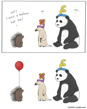 awesomesthesia:  I Want A Balloon Hat Too: cool  balloon  uh  I want  um...  hat too  lizclimo.tumblr.com awesomesthesia:  I Want A Balloon Hat Too