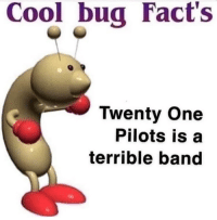 terrible: CoolbuaFact's  Twenty One  Pilots is a  terrible band
