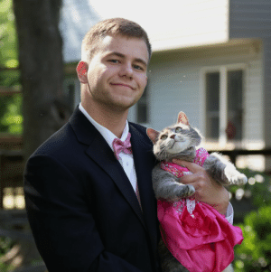 coolcatgroup:  elvendork:  I CANT BELIEVE I DIDNT TAKE MY CAT TO PROM. WHAT A FOOL I AM!!!!   That face  : coolcatgroup:  elvendork:  I CANT BELIEVE I DIDNT TAKE MY CAT TO PROM. WHAT A FOOL I AM!!!!   That face