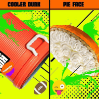 We're pranking someone BIG at KidsChoiceSports! Pick the prank in the comments 👇: COOLER DUNE  PIE FACE We're pranking someone BIG at KidsChoiceSports! Pick the prank in the comments 👇