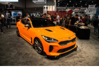 Memes, Boost, and 🤖: Coolest Kia ever? Another spot from SEMA 2017! . . carmemes jdm turbo boost tuner carsofinstagram carswithoutlimits carporn instacars supercar carspotting supercarspotting stance stancenation stancedaily racecar blacklist cargram carthrottle itswhitenoise