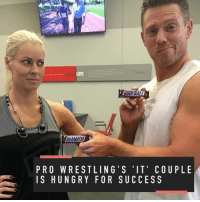 Sports, Royals, and Huns: COORBALL  DRAMATIC  PRO WRESTLING' S IT' COUP LE  IS HUN GRY FOR SUCCESS The Miz's secret weapon for success at Royal Rumble? His wife and workout partner, Maryse 👫