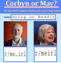 """<p>I think it&rsquo;s a good investment, opinions? via /r/MemeEconomy <a href=""""http://ift.tt/2rDT6Wx"""">http://ift.tt/2rDT6Wx</a></p>: Corbyn or May?  Be informed. Compare them on the issues that matter  Issue: Going on Reddit  r/me_irl r/meirl <p>I think it&rsquo;s a good investment, opinions? via /r/MemeEconomy <a href=""""http://ift.tt/2rDT6Wx"""">http://ift.tt/2rDT6Wx</a></p>"""