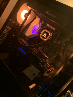 Is i7-9700K and RTX 2070 Super a bit overkill? Because I went from a 4-5 years old pre-built pc to this so it feels weird.: CORSAIR  PRIME  7390 SERIES  A  LGA 51  CORSAIR  2!!ווו  ASUS  YTE  e.  N  U31G1 CS  GIGABYTE  ard O  ese  1ON Is i7-9700K and RTX 2070 Super a bit overkill? Because I went from a 4-5 years old pre-built pc to this so it feels weird.