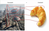 Star Wars, Croissant, and Coruscant: Coruscant  Croissant Is Coruscant actually just a Croissant???  Posted by Tyler Austen