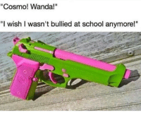 """<p>When you done with Mr. Crocker&rsquo;s bullshit (via /r/BlackPeopleTwitter)</p>: """"Cosmo! Wanda!""""  """"I wish I wasn't bullied at school anymore!"""" <p>When you done with Mr. Crocker&rsquo;s bullshit (via /r/BlackPeopleTwitter)</p>"""