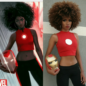 Marvel Comics, Target, and Tumblr: cosplayingwhileblack:  Character: Riri Williams Series: Marvel Comics Cosplayer:   Mariana Santos