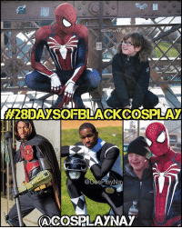 Memes, 🤖, and Buddy: CosPlayNay  H28IDAYSOFBLACKCOSSPLAY  @GOSPlayN  COSPLAY NAy My second 28daysofblackcosplay feature goes to the AMAZING @cosplaynay! 🙌🏾 It takes more than a pretty costume to be a real hero - it takes a big heart: and my buddy Naiquan has that in spades. ❤️ Be sure to check out his page and give him a follow. -- Also be sure to follow @cosplayofcolor for daily cosplay photography that emphasizes diversity and representation. 👌🏾