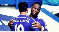 Games taken to score 50 goals for Chelsea...  - Didier Drogba: 112 games   - Diego Costa: 97 games: COSTA Games taken to score 50 goals for Chelsea...  - Didier Drogba: 112 games   - Diego Costa: 97 games