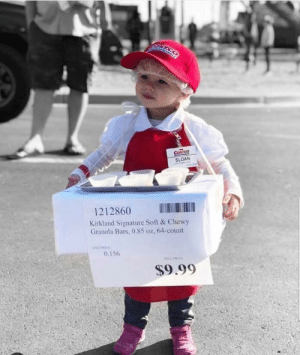 And the cutest costume of the decade goes to via /r/funny https://ift.tt/2Ddu1Ze: COSTSQ  SLOAN  1212860  Kirkland Signature Soft & Chewy  Granola Bars, 0.85 oz, 64-count  0.156  $9.99 And the cutest costume of the decade goes to via /r/funny https://ift.tt/2Ddu1Ze