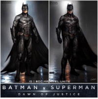 Batman, Dope, and Hype: COSTUME DESIGNER  UME DESIGNER  MICHAEL WILKINSON  AEL WILKINSON  IG I Q O MARRANAEL UNITE  B A T M A N S U P E R M A N  J US T C E Here's some Early Concept Art for BenAffleck's BatSuit from BatmanVSuperman : DawnofJustice ! This looks a little more slim, more armored, with white eyes, longer ears and overall more tech based. I'm glad we got TheDarkKnight Returns inspired Batman, but this looks Dope too ! I wonder if @BenAffleck will be getting Another Costume for ' TheBatman' in 2018 after JusticeLeague ! Comment Below your Thoughts ! DCEU HYPE ! DCExtendedUniverse 🦇 DCFilms BvS