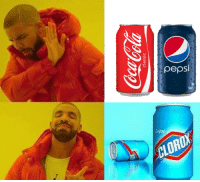 Like the backup Watermelon Memes II: Cou:Cola  classic  pepsi  of  CLOROX / Like the backup Watermelon Memes II