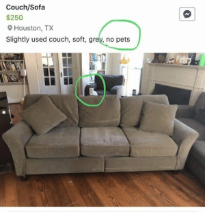 People are always trying. Not always succeeding, but trying. #fails #attempts #lol #funny: Couch/Sofa  $250  Houston, TX  Slightly used couch, soft, grey, no pets People are always trying. Not always succeeding, but trying. #fails #attempts #lol #funny