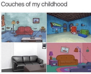 What rhymes with egg: Couches of my childhood What rhymes with egg