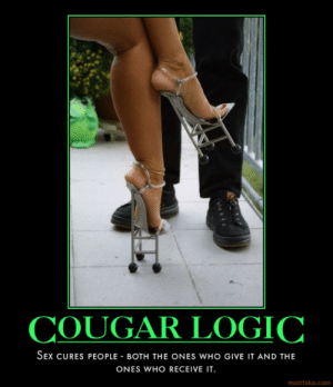 Cougar dating posters