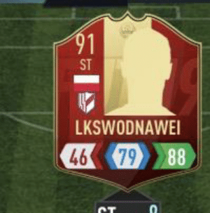 Cought this while playing FIFA (it's supposed to say Lewandowski): Cought this while playing FIFA (it's supposed to say Lewandowski)