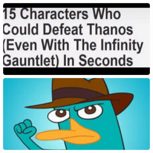Thanos is done for: Could Defeat Thanos  (Even With The Infinity  Gauntlet) In Seconds Thanos is done for