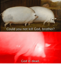 Memes, God Is Dead, and 🤖: Could you not kill God, brother?  God is dead