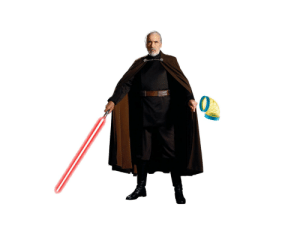 Count Dooku with Curved Objects: Day 1, a hamster tube: Count Dooku with Curved Objects: Day 1, a hamster tube
