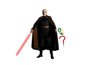 Count Dooku with Curved Objects: Day 2, A Hook: Count Dooku with Curved Objects: Day 2, A Hook