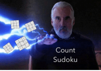 Star Wars, Sudoku, and Cheyenne: Count  Sudoku Credit: Cheyenne Kimberlin -DS