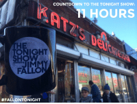 """Countdown, Journey, and Target: COUNTDOWN TO THE TONIGHT SHOW  1HOURS  THE  ONIGHT  HOW  STARRING  FALLO  #FALLONTO NIGHT <p><strong>Countdown to the Tonight Show: 11 HOURS!</strong></p> <p>We&rsquo;re just hours awayfrom the Tonight Show! Follow our TSJF mug <a href=""""http://www.nbc.com/the-tonight-show/blogs/1176"""" target=""""_blank"""">on an hourly journey</a> through NYC as we makes our way to 30 Rock.</p> <p><span>1 PM - stopping by Katz&rsquo;s Deli for a pastrami sandwich!</span></p>"""