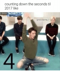 counting down the seconds til  2017 like  ig.exostar my 7 Woah is that a ...a MEME!?!? lmao im bAEK BITCHESSS....sorry anyway HAPPY NEW YEAR...well its 10:18p here so not yet for me but close enough. I hope everybody has a great year and spreads lots of love and respect and i hope this year will be the year kpop really get hUGE lol and also the year that these idiots will realize how stupid and unnecessary fanwars are I love you guys and i cant wait to see what good things 2017 will bring cuz , and i think i speak for a lot of ppl when i say, 2016 FUCKING SUCKED ...BUT it was also bomb cuz all these comebacks and mixtapes had me SHOOK ON THE FLOOR SHOOOOOK so it kinda balanced out (not really but u kno what i mean) but hopefully next year will just be less tragic and have me shook again and hopefully all my boys get some good rest cuz lets be honest they all been spoiling us this year they deserve it fr. • • • • • • • • •🔥credit2me exo exol chanyeolexo do exodo suho kyungsoo jongdae jongin sehun ohsehun chen kai baek baekhyun layyixing lay xiumin 엑소 엑소엘 찬열 수호 슈민 세훈 레이 백현 첸 카이 디오 kpopmemes