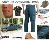 boy: COUNTRY BOY STARTER PACK  D RATHER BE