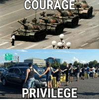 America, Memes, and Patriotic: COURAGE  PRIVILEGE This is the real difference between true rebels and today's liberals who are nothing but crowd of whiners. patriots americanpatriots politics conservative libertarian patriotic republican usa america americaproud peace nowar wethepeople patriot republican freedom secondamendment MAGA PresidentTrump