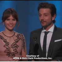 "Memes, Spanish, and Espanol: Courtesy of  HFPA & Dick Clark Productions, Inc. And this is why DiegoLuna has stolen everyone's hearts and admiration! 👏👏 ""Y el Globo de Oro es para ... You got that right?"" - Diego Luna GoldenGlobes diegoluna mexico actor spanish español 👏👏👏👏👏❤"