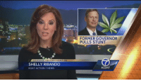 This man Gary Johnson has no chill 😂: COVERAGE YOU CAN COUNT ON  SHELLY RIBANDO  KOAT ACTION 7 NEWS  FORMER GOVERNOR  PULLS STUNT  KOAT This man Gary Johnson has no chill 😂