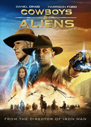 Cowboys and Aliens (2011) was given a three star review (out of four) by Roger Ebert, himself. Based on this totally legitimate and 100% accurate rating system, this movie is simultaneously as terrible as The Help (2011) , and as godly as Fast Five (2011).: Cowboys and Aliens (2011) was given a three star review (out of four) by Roger Ebert, himself. Based on this totally legitimate and 100% accurate rating system, this movie is simultaneously as terrible as The Help (2011) , and as godly as Fast Five (2011).