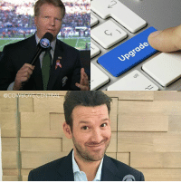 Dallas Cowboys, Memes, and Thanksgiving: @COWBOYS CENTRA.  rode Tony Romo will replace Phil Simms and join Jim Nantz in the booth next season. He will commentate 3 Cowboys games including the Thanksgiving game, vs the Chargers and the Chiefs.