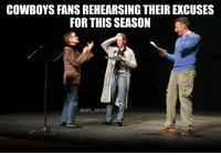 """Zeke was robbed of 6 games. Wait nope we said our O-line was the reason. Scratch that."": COWBOYS FANS REHEARSING THEIR EXCUSES  FOR THIS SEASON  @NFL MEMES ""Zeke was robbed of 6 games. Wait nope we said our O-line was the reason. Scratch that."""