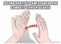 Dallas Cowboys, Football, and Memes: COWBOYS TONIGHT LEAKED  @NFL_MEMES LEAKED!!! https://t.co/euTowNW7WA