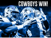 Our Dallas Cowboys get a BIG WIN on Sunday Night Football!  Celebrate with new gear: http://bit.ly/2hSCKp2: COWBOYS WIN!  PRO SHOP Our Dallas Cowboys get a BIG WIN on Sunday Night Football!  Celebrate with new gear: http://bit.ly/2hSCKp2