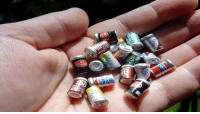 Soda, Tumblr, and Blog: cppc useless-cantrips:  randomitemdrop:  Item: handful of tiny soda cans, each containing a few drops of pure flavor syrup; if added to a glass of water, the syrup turns it into that soda.  Imported straight from Minnisoda