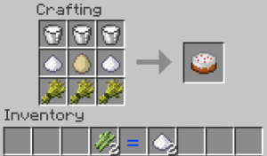 Milk, Poison, and Can: Crafting  Inventory Just a reminder that Felix can make cakes (also milk can cure diseases like hunger or poison)