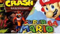 Which game did you prefer?: CRASH  BANDICOOT Which game did you prefer?